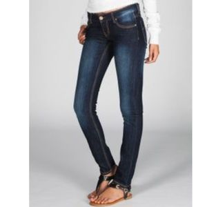 RSQ Ibiza extreme skinny low rise jeans SZ 3R